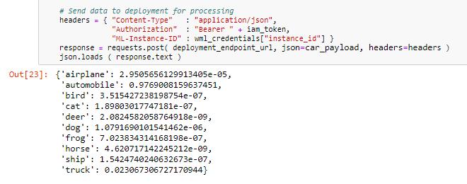 Using deployments - IBM Watson